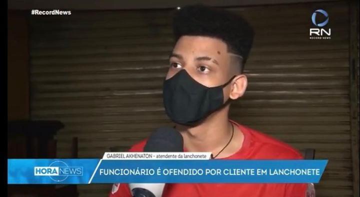 """TUDO MENTIRA: garçom de lanchonete de CG confessa que mentiu e criou  ataques racistas para """"aparecer"""" - Blog do Márcio Rangel"""